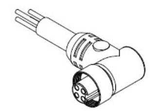 1300140050 DC Power Cords MC 7P MR 12IN 16//1 PVC